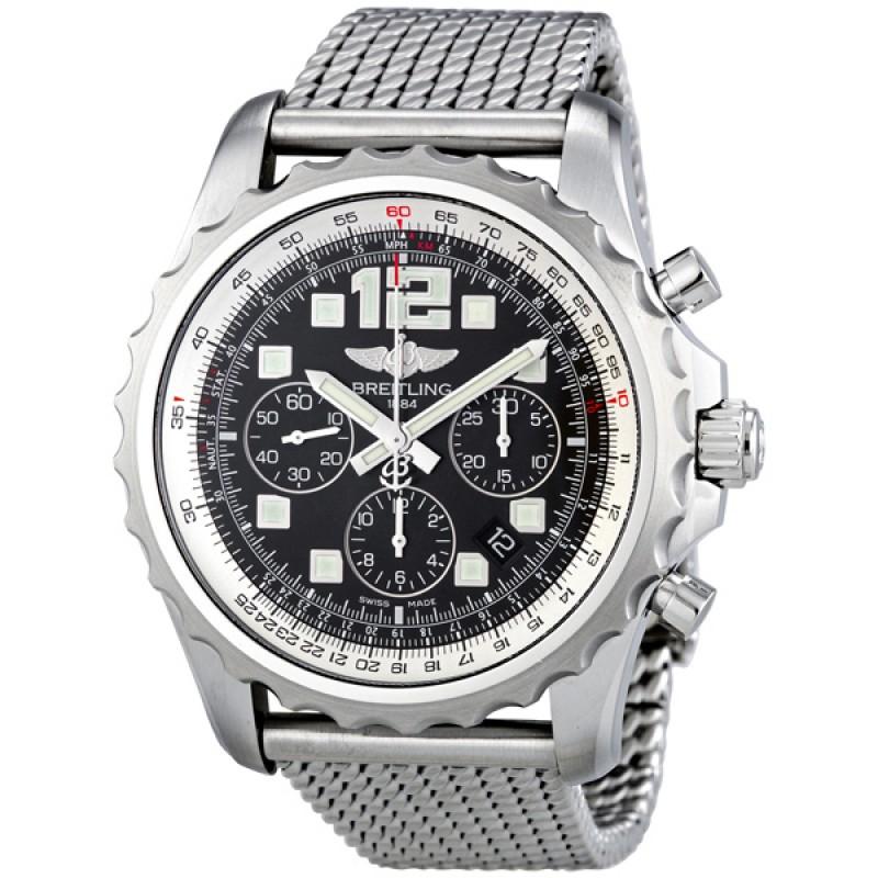 Fake Breitling Chronospace Auto Black Automatic Mens Watch A2336035-BA68SS