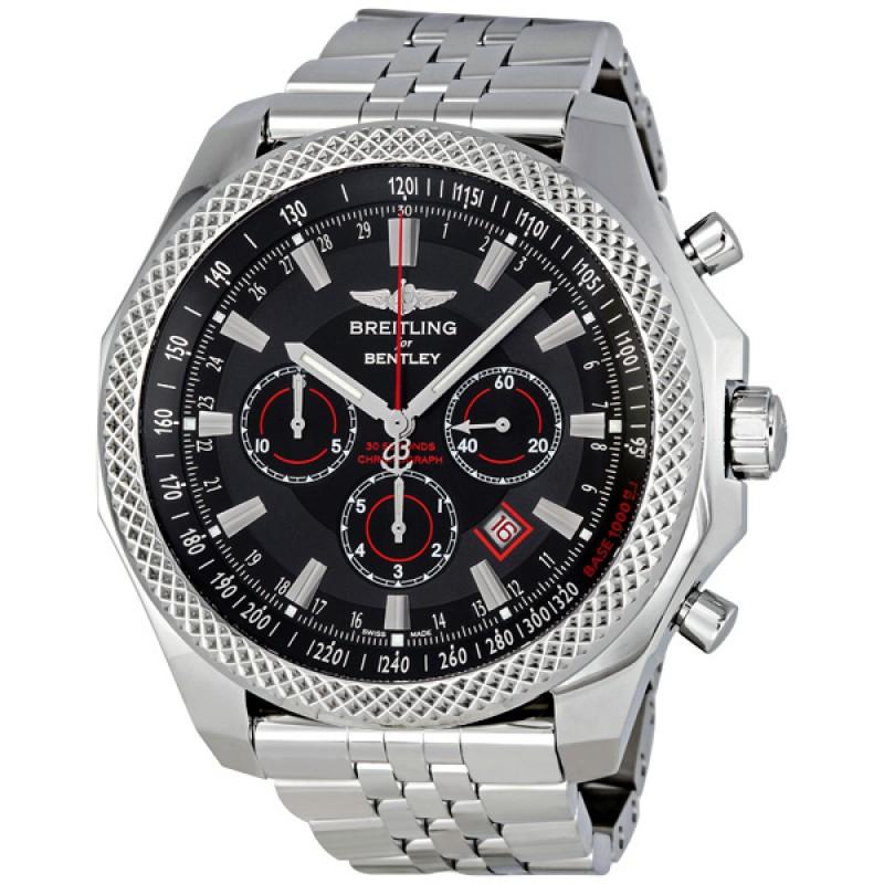 Fake Breitling Bentley Barnato Royal Ebony Dial Chrono Watch A2536824-BB11SS