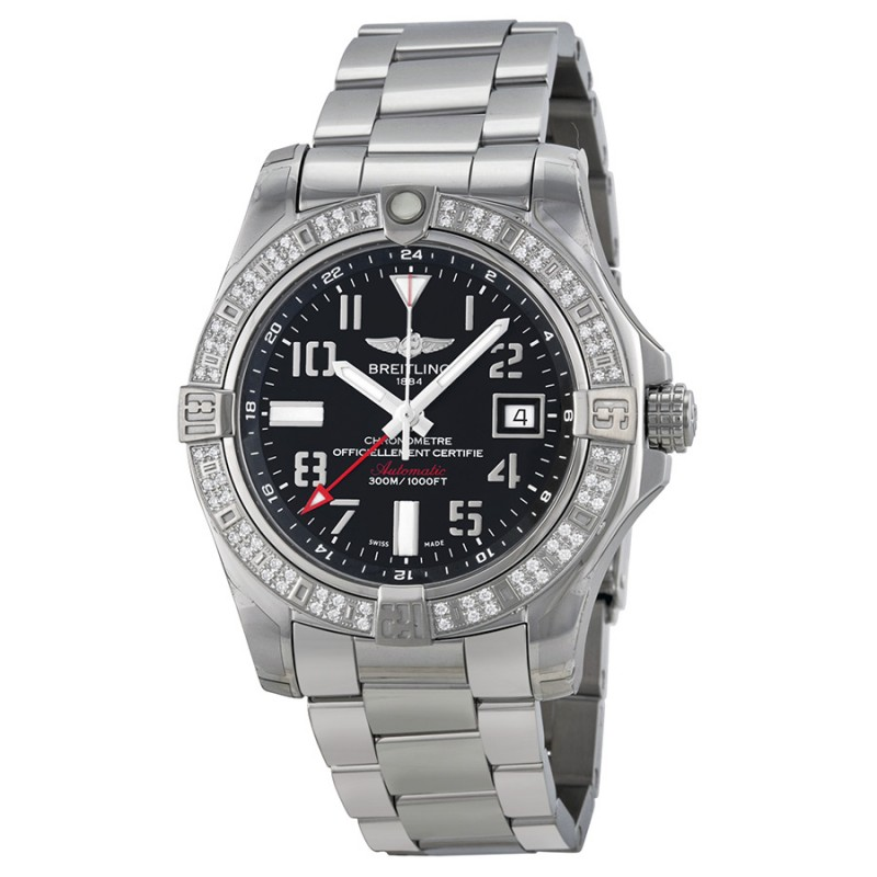 Fake Breitling Avenger II GMT Watch A3239053-BC34SS