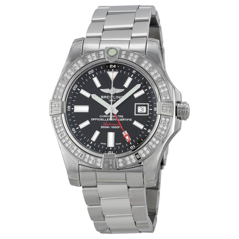 Fake Breitling Avenger II GMT Watch A3239053-BC35SS