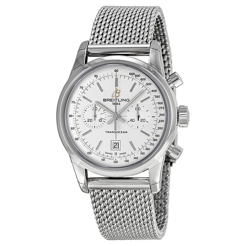 Fake Breitling Transocean Mens Watch A4131012-G757SS