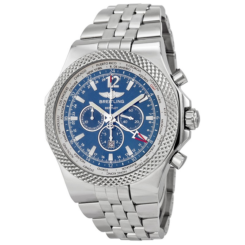Fake Breitling Bentley GMT Chronograph Automatic Mens Watch A4736212-C768
