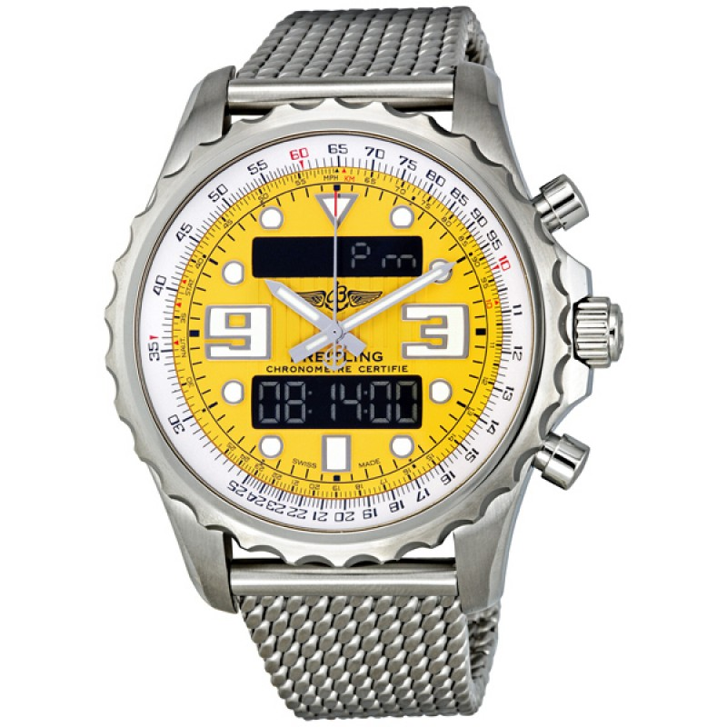 Fake Breitling Professional Chronospace Mens Watch A7836534-I518SS