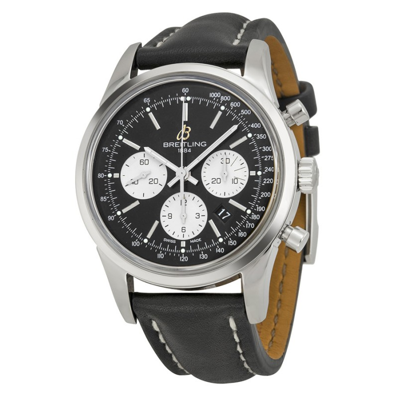 Fake Breitling Transocean Chronograph Mens Watch AB015112-BA59BKLT