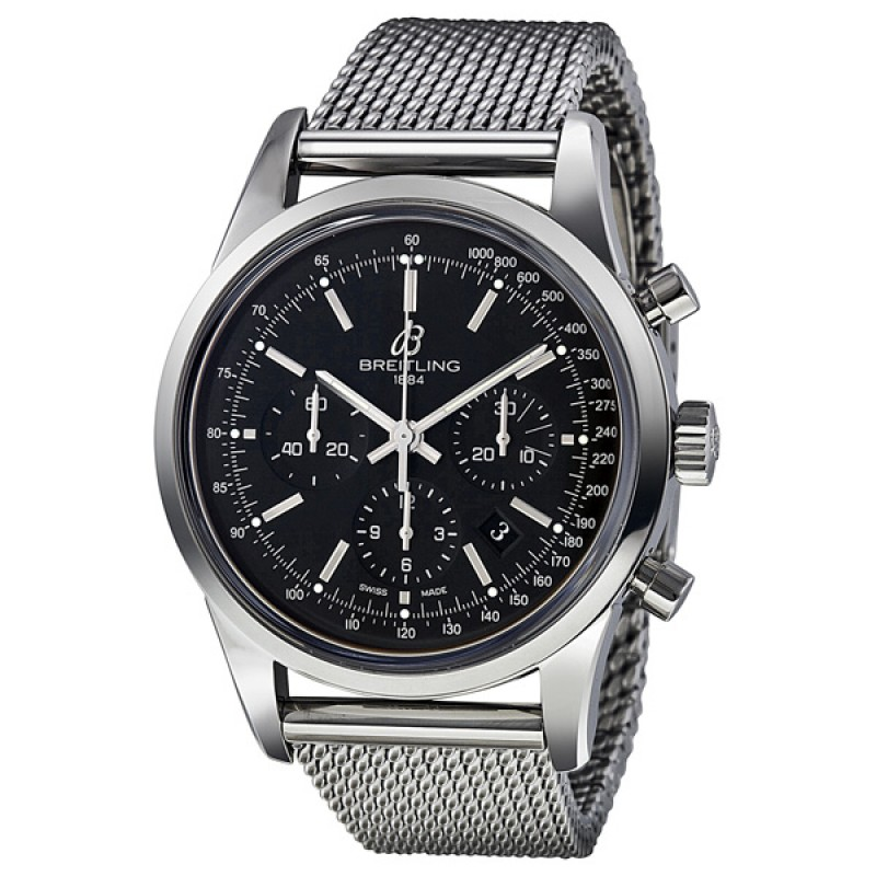 Fake Breitling Transocean Mens Watch AB015212-BA99SS