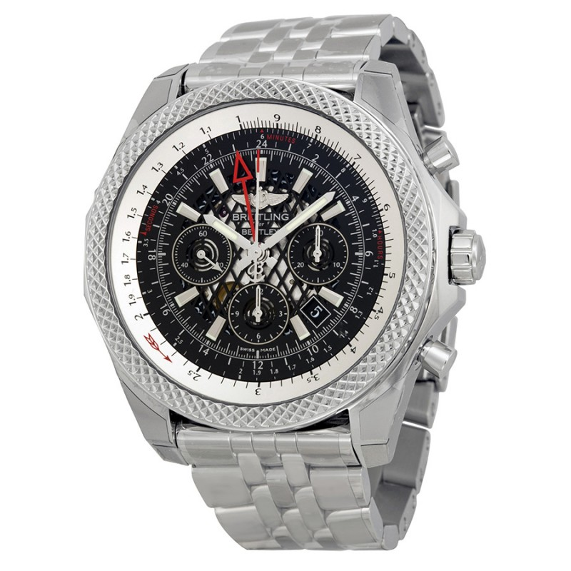 Fake Breitling Bentley B04 GMT Chronograph Mens Watch AB043112-BC69SS
