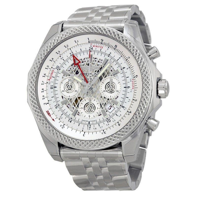 Fake Breitling Bentley B04 GMT Chronograph Mens Watch AB043112-G774SS