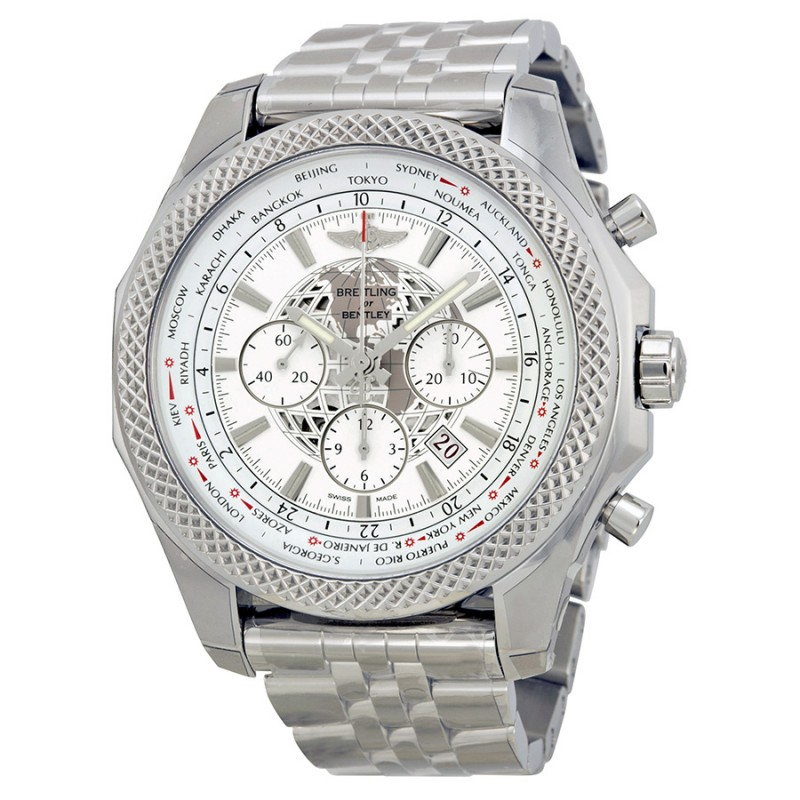 Fake Breitling Bentley B05 Unitime Chronograph Mens Watch AB0521U0-A755SS