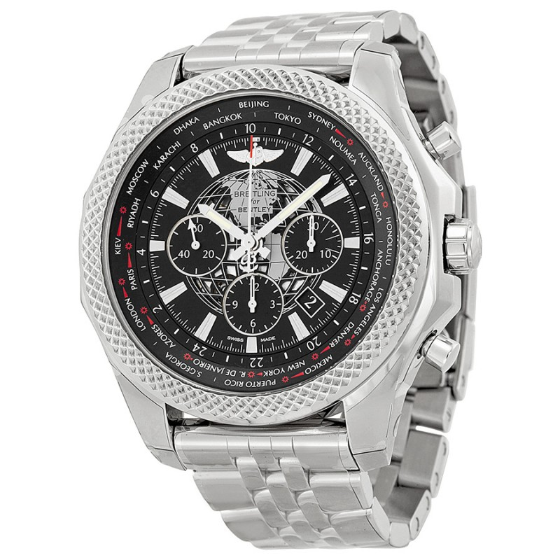 Fake Breitling Bentley B05 unitime Ebony Dial Chronograph Mens Watch AB0521U4/BC65