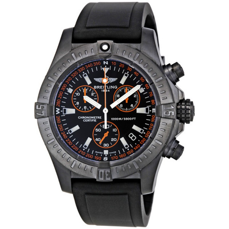 Fake Breitling Avenger Seawolf Code Orange Chronograph Mens Watch M73390T2-BA88BKRD