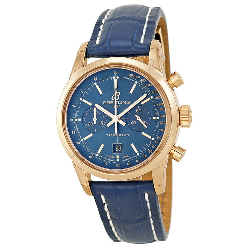Fake Breitling Transocean Chronograph 38 Mens Watch R4131012-C863BLCD