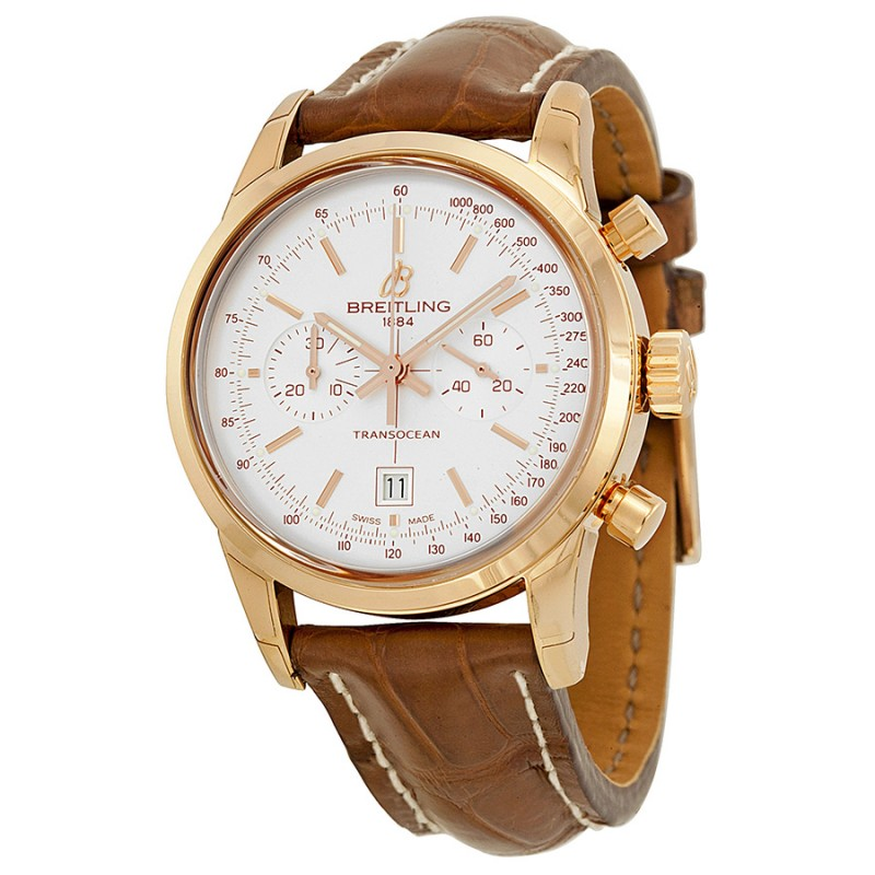 Fake Breitling Transocean Chronograph 38 Mens Watch R4131012-G758BRCT