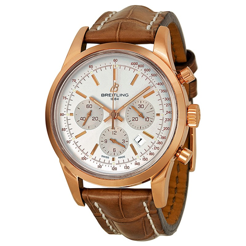 Fake Breitling Transocean Chronograph Automatic Mens Watch RB015212-G738BRLT