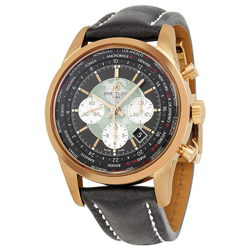 Fake Breitling Transocean Chronograph Mens Watch RB0510U4-BB63BKLD