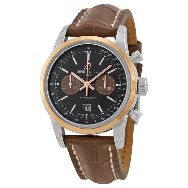 Fake Breitling Transocean Chrono 38 Unisex Watch U4131012-Q600BRCT