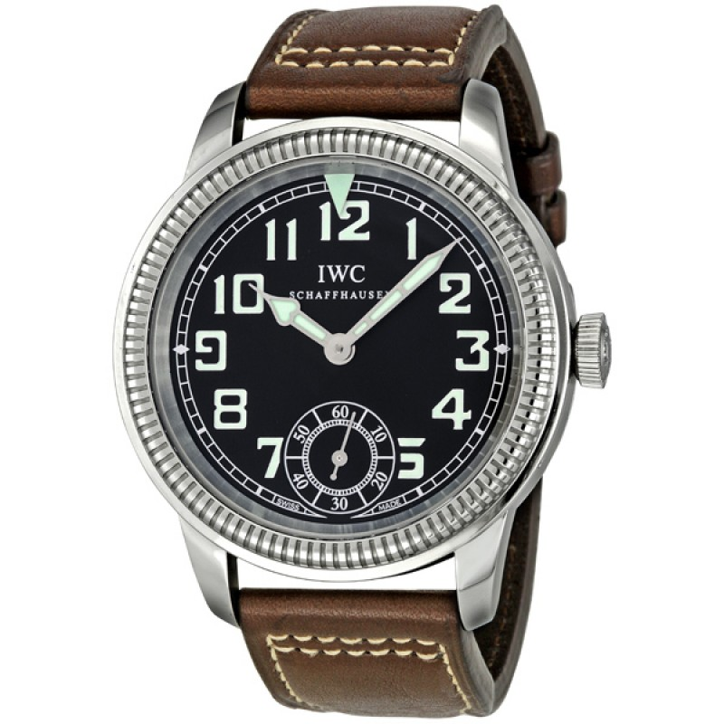 Fake IWC Vintage Collection Pilot Hand-wound Mens Watch IW325401