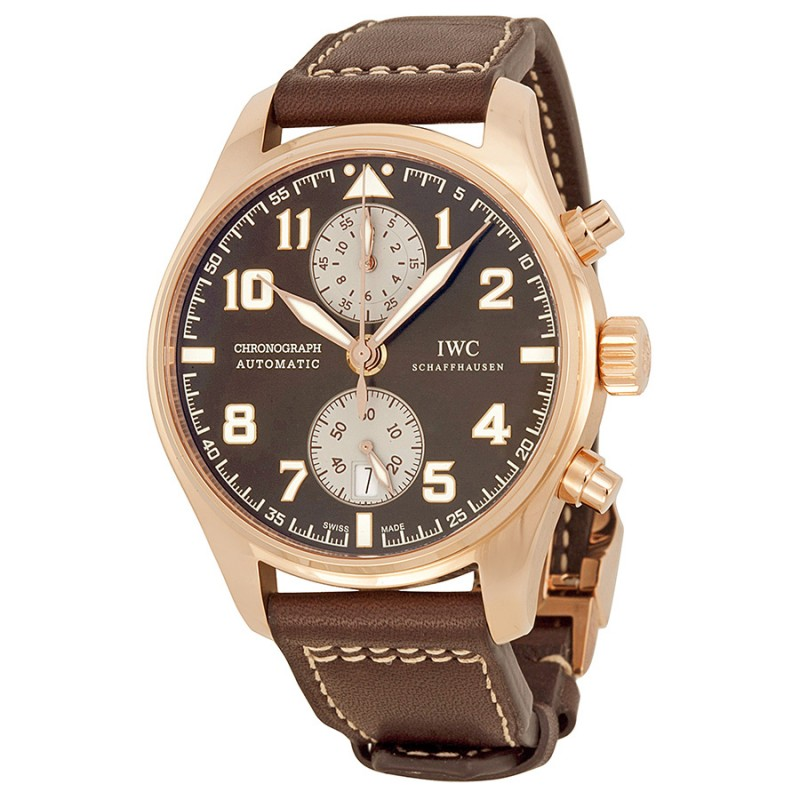 Fake IWC Pilot's Chronograph Edition Antoine de Saint Exupery Mens Watch IW387805