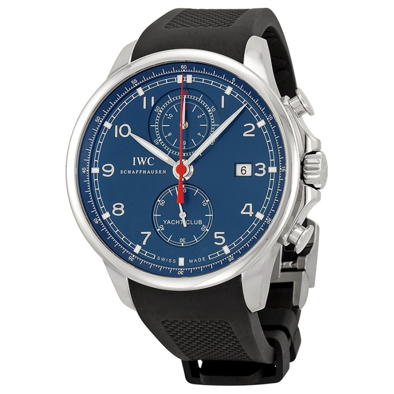 Fake IWC Portuguese Yacht Club Chronograph Automatic Mens Watch IW390213