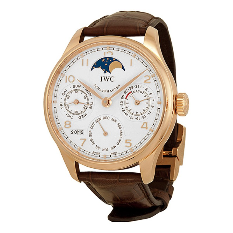 Fake IWC Portuguese Perpetual Calendar Moonphase Automatic Mens Watch IW502306