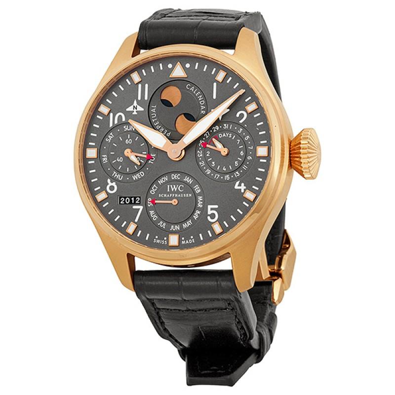 Fake IWC Big Pilot's Grey Dial Automatic Mens Watch IW502638