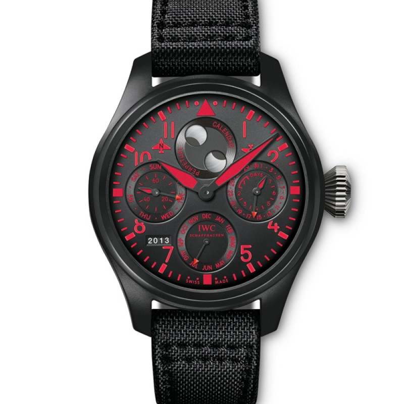 Fake IWC Big Pilot's Perpetual Calendar Top Gun Boutique Edition Mens Watch IW502903