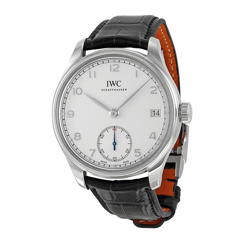 Fake IWC Portuguese Hand Wound Eight Days Mens Watch IW510203