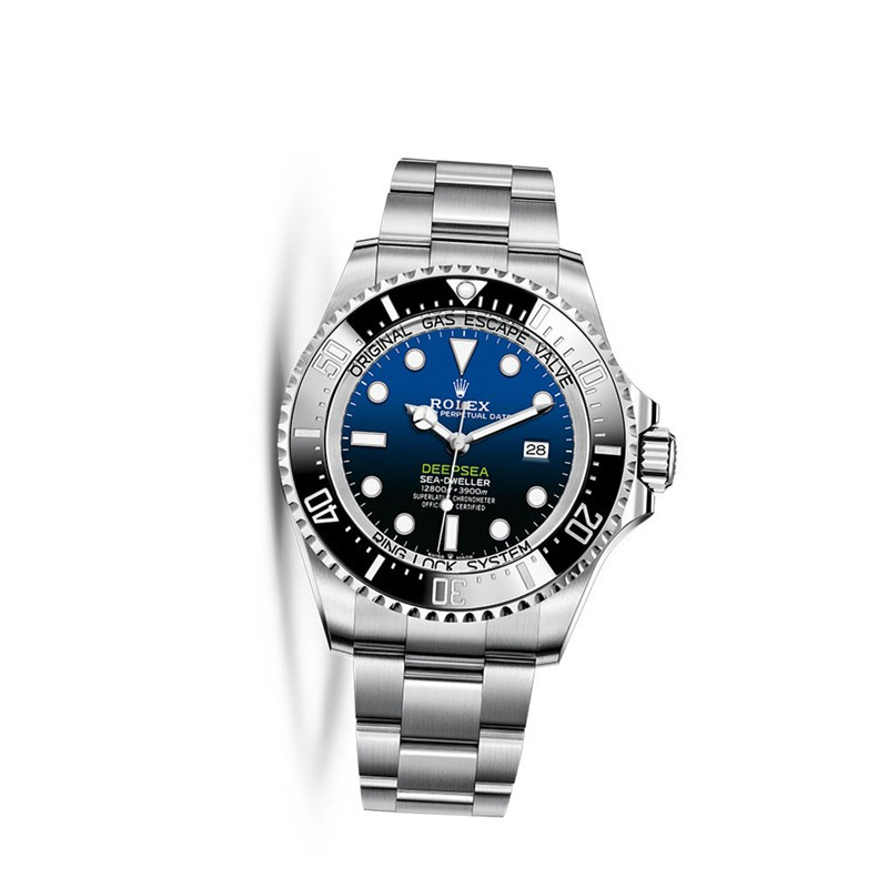 Replica Rolex Deepsea D-blue dial m126660-0002