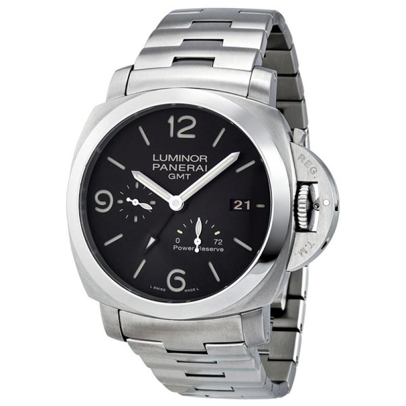 Fake Panerai Luminor 1950 3 Days GMT Automatic Mens Watch PAM00347