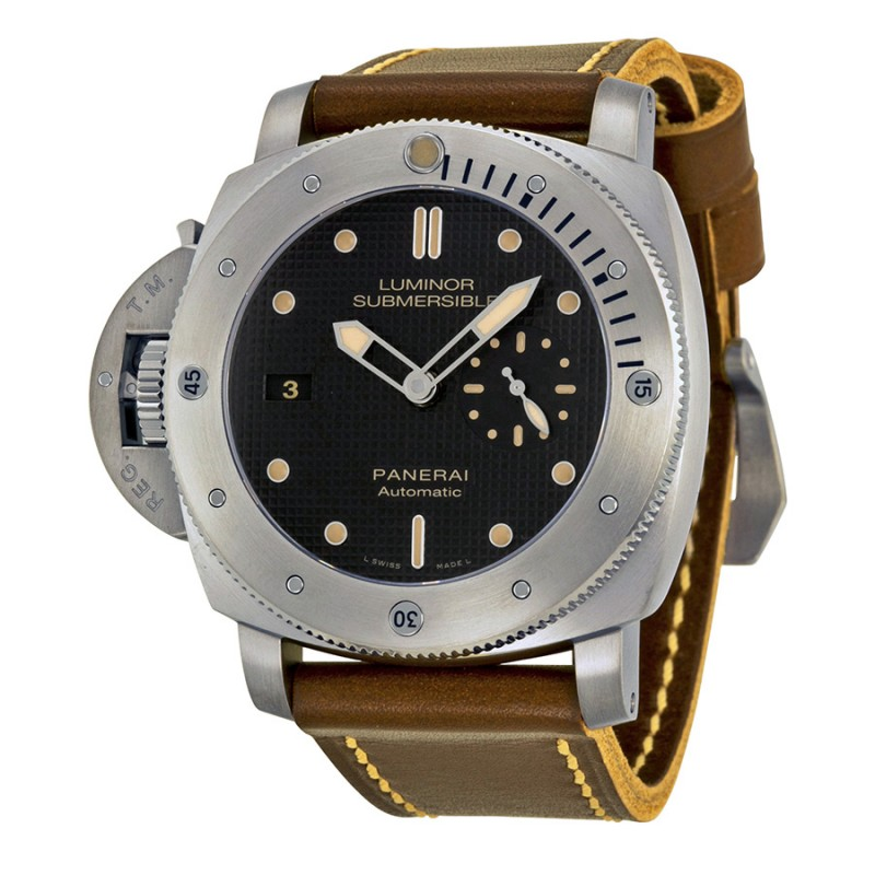 Fake Panerai Luminor 1950 Titanium Automatic Mens Watch PAM00569