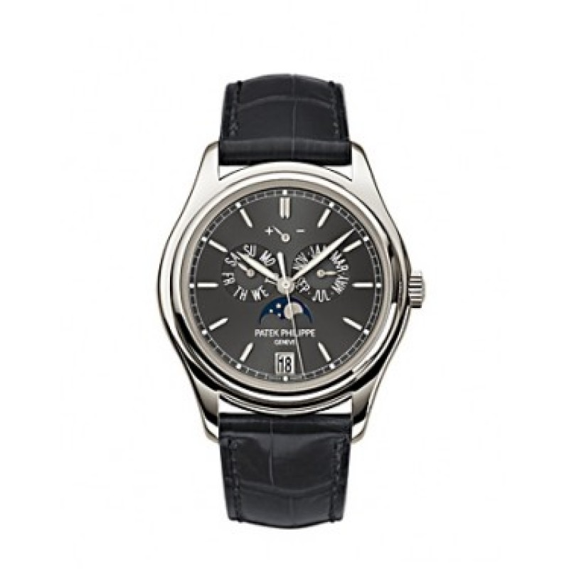 Replica Patek Philippe Complications Automatic Moonphase Mens Watch 5146P-001