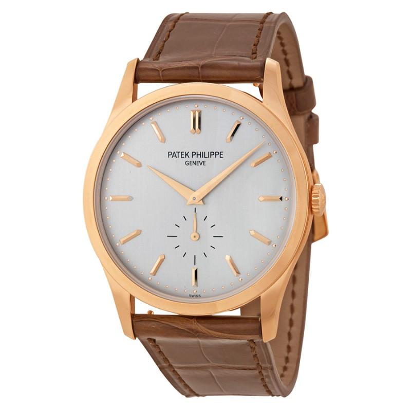 Replica Patek Philippe Calatrava Automatic Rose Gold Mens Watch 5196R