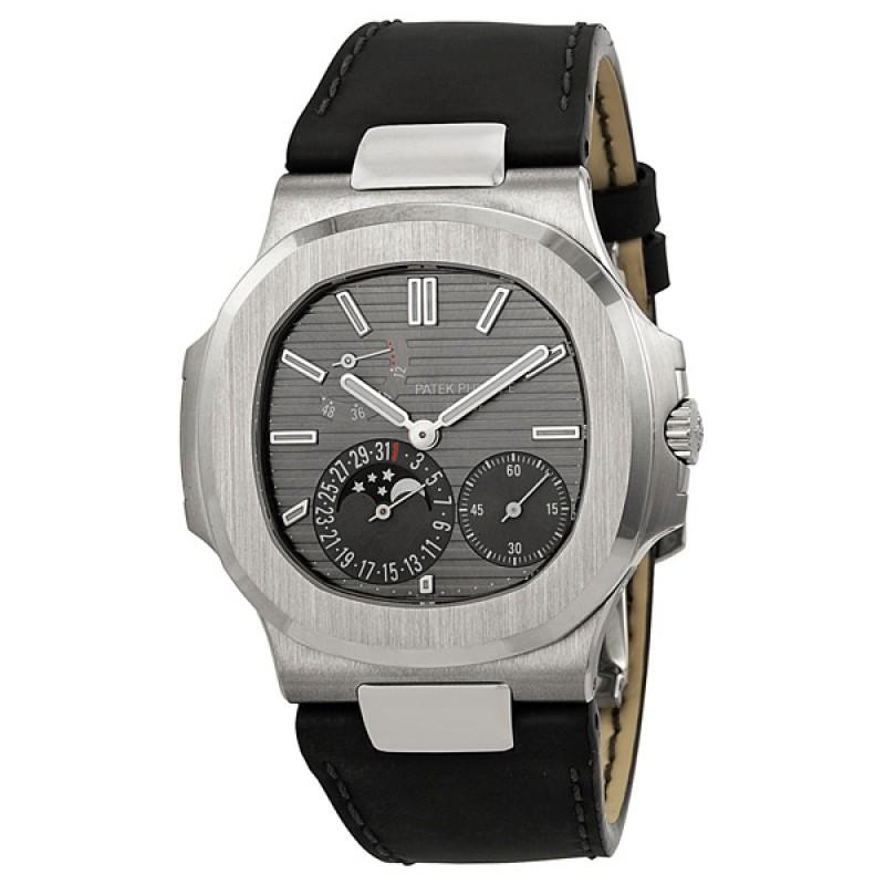 Replica Patek Philippe Nautilus Automatic Moonphase Mens Watch 5712G/001