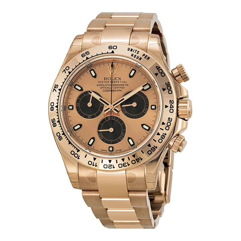 Fake Rolex Daytona Pink Index Dial Mens Watch 116505PSO
