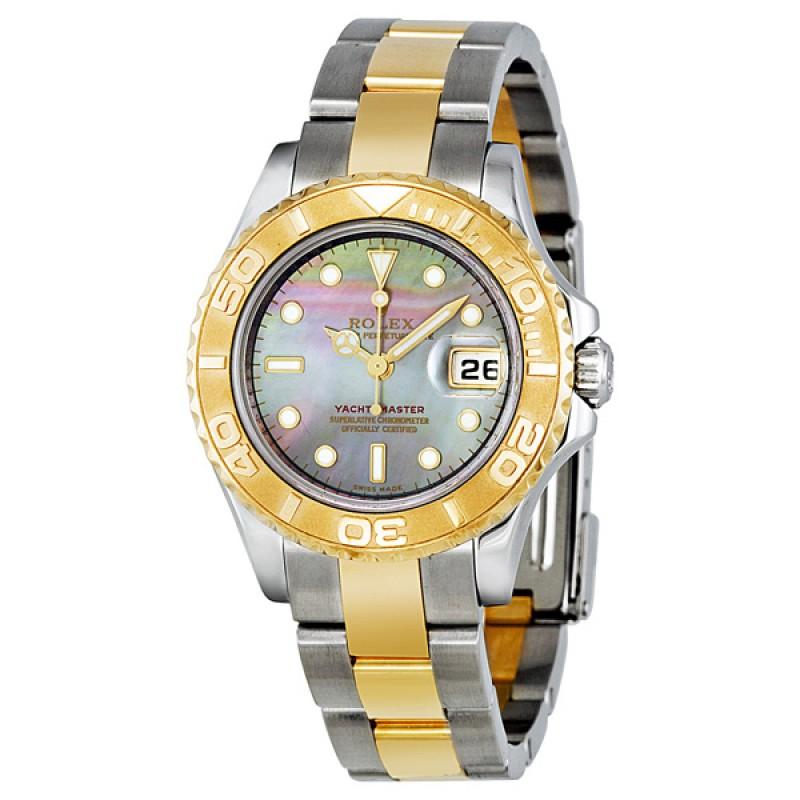 Fake Rolex Yachtmaster 29mm Ladies Watch 169623BMSO