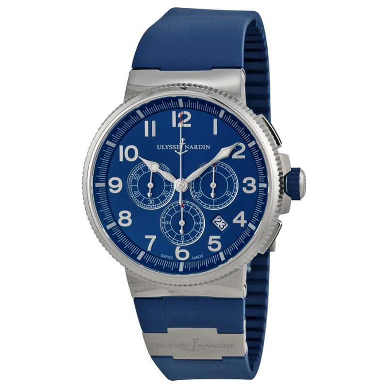 Fake Ulysse Nardin Marine Chronograph Mens Watch 15031503-63