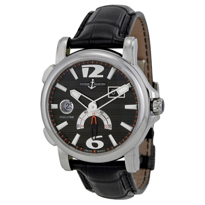 Fake Ulysse Nardin Dual Time Mens Watch 243-55-62