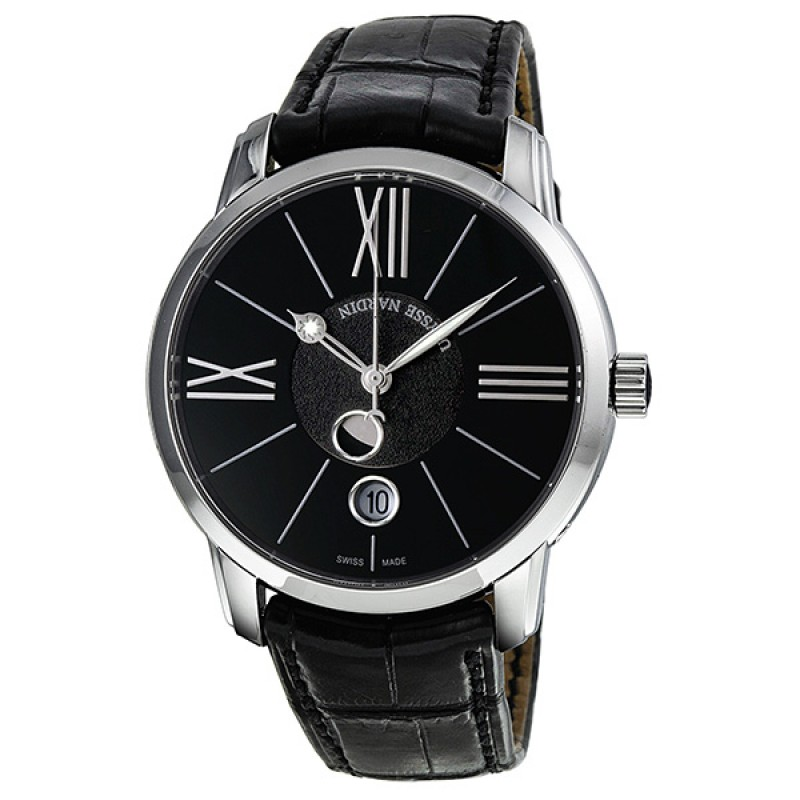 Fake Ulysse Nardin Classico Luna Automatic Mens Watch 8293-122-2-42