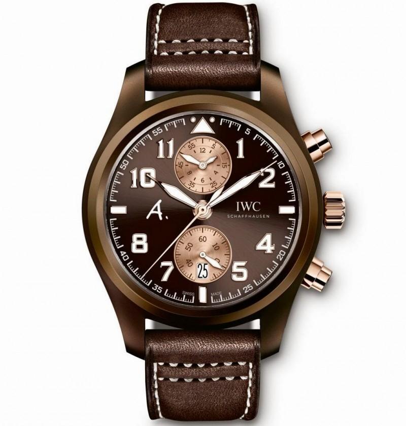 Fake IWC Pilot's Watch Chronograph Edition The Last Flight IW388006