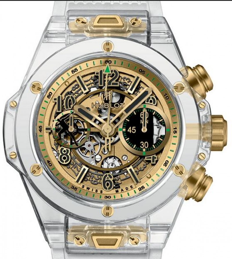 Fake Hublot Big Bang Unico Sapphire Usain Bolt for Only Watch 411.JX.4089.RT.OWM17