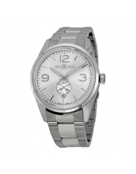 Replica Bell & Ross Officer Automatic Mens Watch BR123-WH-ST-SS