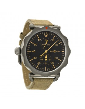 Replica Bell & Ross WW2 Regulateur Automatic Mens Watch BRWW2-REG-HER/SCA