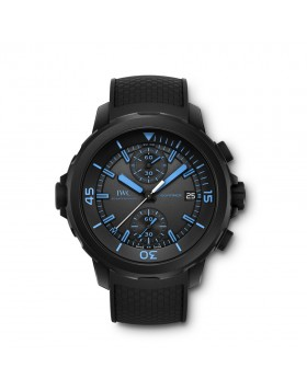 Fake IWC Aquatimer Chronograph 50 Years Science for Galapagos Mens Watch IW379504