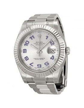 Fake Rolex Datejust II Automatic Rhodium Dial Mens Watch 116334RBLAO