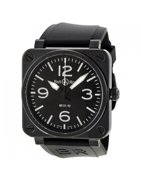 Replica Bell & Ross BR 01 Instrument Automatic Mens Watch BR0192-BL-CER-SRB