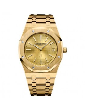 Replica Audemars Piguet Royal Oak Extra-Thin Yellow Gold Watch 15202BA.OO.1240BA.02