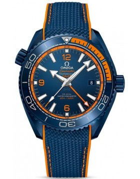Fake Omega Seamaster Planet Ocean 600M GMT Big Blue 215.92.46.22.03.001