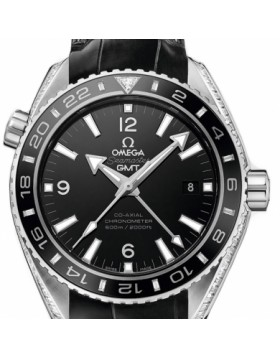 Fake Omega Seamaster Planet Ocean 600 M GMT 43.5mm 232.98.44.22.01.001
