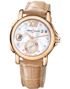 Fake Ulysse Nardin Dual Time Lady Small Second Automatic Ladies Watch 246-22-391