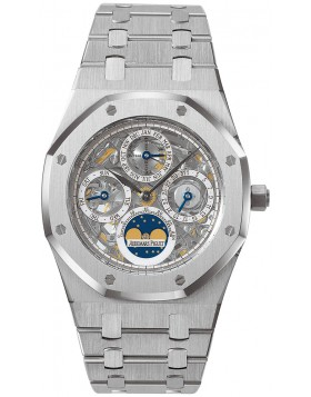 Replica Audemars Piguet Royal Oak Skeleton Perpetual Calendar 25829ST.OO.0944ST.01