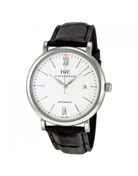 Fake IWC Portofino Silver Dial Automatic Mens Watch 3565-01